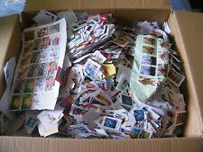 6.2 Kilo Box Of GB Kiloware. Commemorative & Definitive Issues.