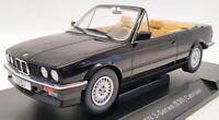 Model Car 1/18 Scale MCG18153 - 1985 BMW 3 Series E30 Cabriolet - Black