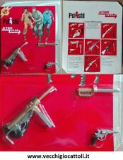 "Hasbro Polistil AT13 Gi Joe 12"" set armi weapon pack 1975"