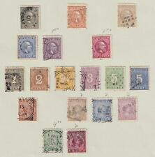 NETHERLANDS INDIES - USED COLLECTION REMOVED FROM ALBUM PAGE - V212