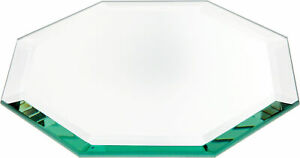 Plymor Octagon 5mm Beveled Glass Mirror, 6 inch x 6 inch (Pack of 24)