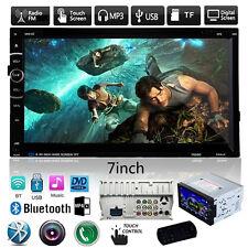 7'' HD 2DIN In Dash Bluetooth Touch Car Stereo Radio Mp3 CD DVD Player FM/USB/SD