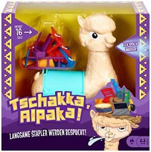 Mattel Games GMV81 Tschakka Alpaka lustiges Kinderspiel Partyspiel ab 5 Jahre