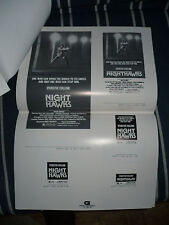 NIGHTHAWKS, orig uncut 5pg ad campaign [Sylvester Stallone, Billy Dee Williams]