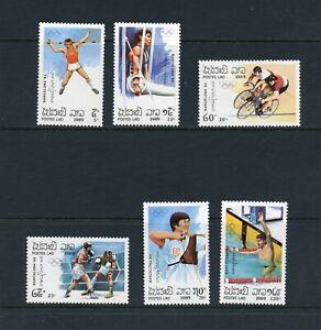 C794 Laos 1989 Olympics 6v. MNH