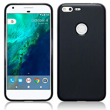Rock Cover Google Pixel XL Case Slim Flex Gel Shock Absorbing TPU Tech Black