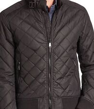 RALPH LAUREN POLO MENS MOTO QUILTED BOMBER JACKET.  BLACK.  XXL.  RRP:£430  NEW.