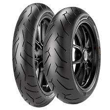 Coppia gomme pneumatici Pirelli Diablo Rosso 2 120/70 ZR 17 58W 180/55 ZR 17 73W