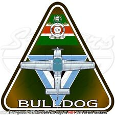 Scottish Aviation BULLDOG (Beagle) BOTSWANA Forze di Difesa Air Wing Adesivo