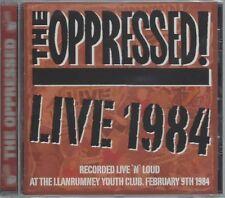 THE OPPRESSED - LIVE 1984 - (still sealed cd) STEP CD 107