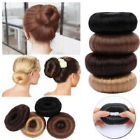 Women Ladies Girls Magic Hair Donut Hair Ring Bun Maker Hair Styling Tool Sale