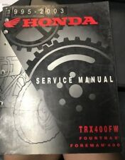 Honda 1995-2003 Service Manual TRX400FW