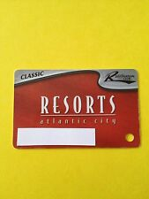 Resorts Casino Slot Classic Players Card Atlantic City