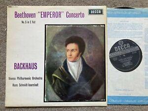 "SXL 2179 Beethoven ""Emperor"" Concerto / Backhaus / Isserstedt W/B ED3"