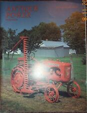 ALLIS CHALMERS Model B tractor, CATERPILLAR D2 Antique Power magazine