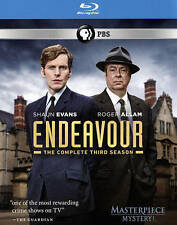 Masterpiece Mystery!: Endeavour Series 3 (UK Edition) Blu-ray New DVD! Ships Fas