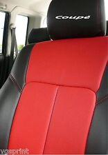 6 X Coupe asiento de coche reposacabezas Calcomanías Stickers gráficos logotipo elección de colores
