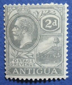 1922 ANTIGUA 2d SCOTT# 48 S.G# 70 UNUSED                               CS04559