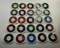 Sony PlayStation PSP Games U Pick Choose UMD Only Fun Rare Action Puzzle Family