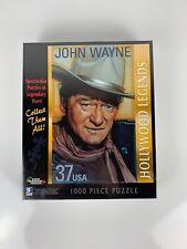 "Hollywood Legends John Wayne 1000 pc Puzzle 20""x27"" White Mountain"