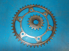 HONDA CBR 600 F4I CBR600F4i SINGLE SEAT 2001 - 2006 FRONT & REAR SPROCKETS KIT
