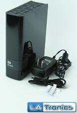 "Western Digital My Book 4TB External 3.5"" Hard Drive HDD WDBFJK0040HBK Tested"