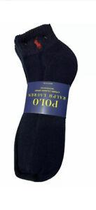 Polo Ralph Lauren Men's  6-Pairs Classic Sport Ankle Socks Navy Sock Size 10-13