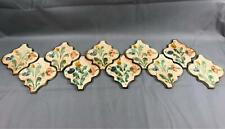 Vintage 10 Italian Accent Wall Art Tiles Italy