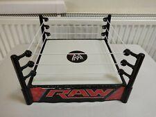 WWE WWF SPRING LOADED RAW WRESTLING RING MATTEL 2010 For Figures WR2