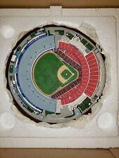 Danbury Mint Arlington Stadium Replica Sculpture Nib Mint Texas Rangers