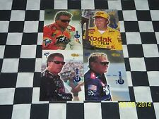Nascar, Collector Trading Cards CLASSIC VISIONS (4) Cards
