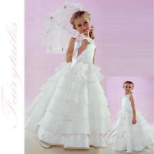 NWT Brand New Flower Girl White Wedding Dress Size 3T 3