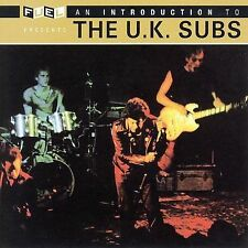 """THE U.K. SUBS """"An Introduction To The U.K. Subs"""" brand new sealed CD U.K. Subs"""