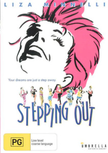 STEPPING OUT (DVD) Liza Minnelli - Brand New / Sealed - Region 4