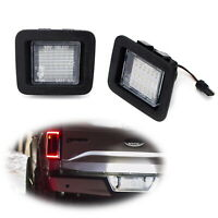 White Full LED License Plate Lamps For 2015-up Ford F150 & Ford 2017-up Raptor