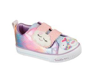 Skechers Mädchen Sneaker bunt Größe 23 24 25 26 27 28 Twinkle Toes Blinklicht