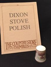 Franklin Nuovo di zecca Country Store Pubblicità DITALE 1980 Dixon STUFA polacco
