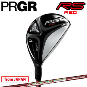 YOKOHAMA PRGR GOLF JAPAN RS RED UTILITY HYBRID Speeder EVOLUTION 2021c