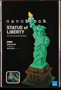 Nanoblock Statue of Liberty (Sealed and Brand New) RARE and few exist in Retail
