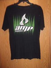 AMP Energy black M t shirt thin