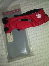 Full 90 Select Adjustable Headguard Tru-Fit Large Red New worn packaging
