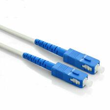 SC/UPC to SC/UPC Indoor Singlemode  9/125 Simplex Fiber Optic Cable 25M