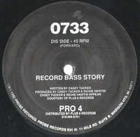 """0733 - Record Bass Story (12"""") Vinyl Schallplatte - 167030"""