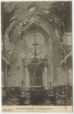 Interior of Thann Synagogue, Alsace, France, 1916, Judaica