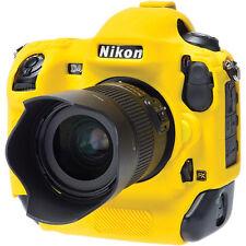 easyCover Nikon D4S EA-ECND4SY Camera Protective Case Yellow Silicone