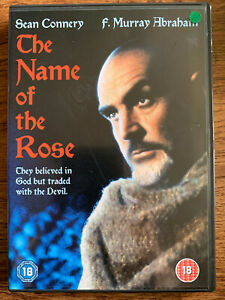 The Name of the Rose DVD 1986 Umberto Eco Monastery Murder Mystery Movie Classic