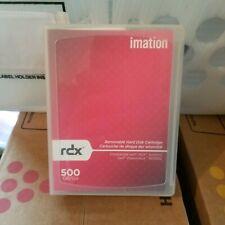 Used Imation RDX 500GB / 1TB RDX RD1000 Removable Hard Disk Cartridge