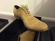 New Paul Van Haagen Italian Shoes US Shoe Size (Men's) 9.5, Beige, Suede