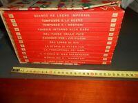 ENCICLOPEDIA : LA SCALA D'ORO NUOVE AVVENTURE - UTET - 12 VOLUMI COFANETTO 1957