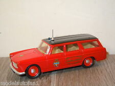 Peugeot 404 Break Service Dept Dile de France van Eligor France 1:43 *8180